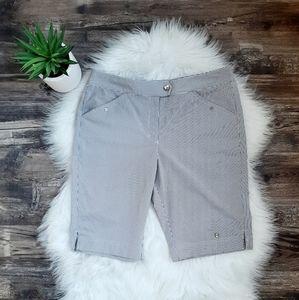 Callaway striped golf shorts